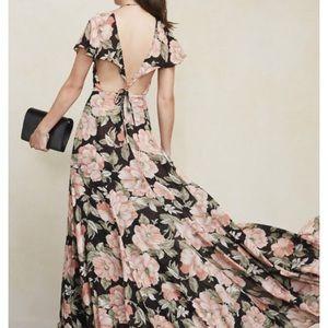 Reformation formal maxi dress